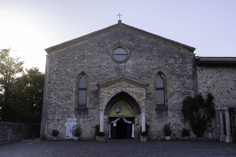 La facciata del XV secolo