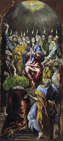 Pentecoste El Greco